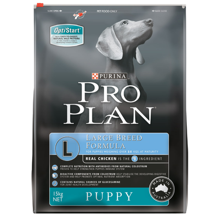 Pro Plan Puppy Large Breed Dry Puppy Food  15kg