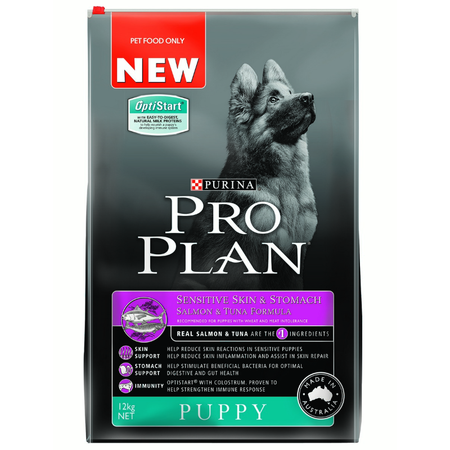 Pro Plan Puppy Sensitive Skin and Stomach Dry Puppy Food  12kg