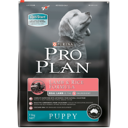 Purina Pro Plan Puppy Lamb and Rice 7.5kg