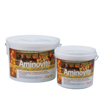 Ranvet Aminovite Plus Multi Vitamin and Coat Supplement for Horses  3kg