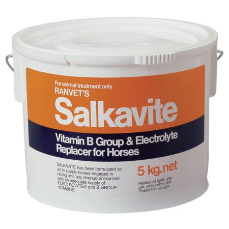 Ranvet Salkavite Vitamin B and Electrolyte Supplement for Horses  5kg