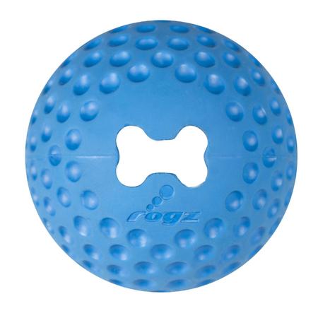 Rogs Gumz Ball Dog Toy Blue Small (49mm)