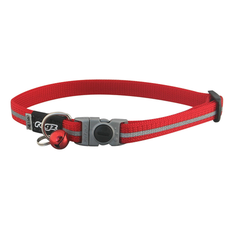 Rogz Alleycat Quick Release Cat Collar Red Small (11mm)