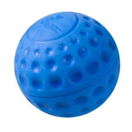Rogz Asteroidz Ball Dog Toy Blue Small (49mm)