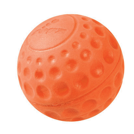 Rogz Asteroidz Ball Dog Toy Orange Small (49mm)