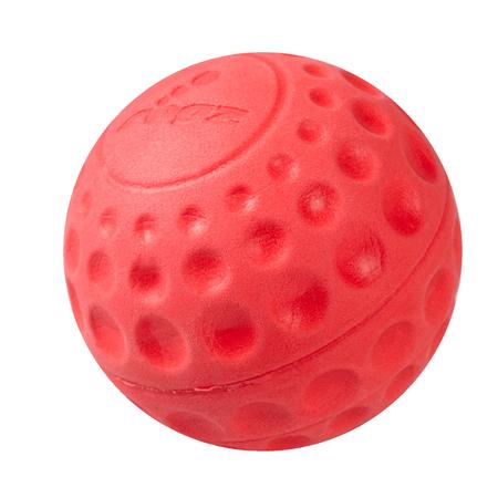Rogz Asteroidz Ball Dog Toy Red Medium (64mm)
