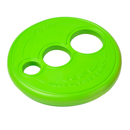 Rogz Frisbee Dog Toy Green 23cm