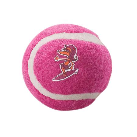 Rogz Gluon Tennis Ball Dog Toy Pink 5cm
