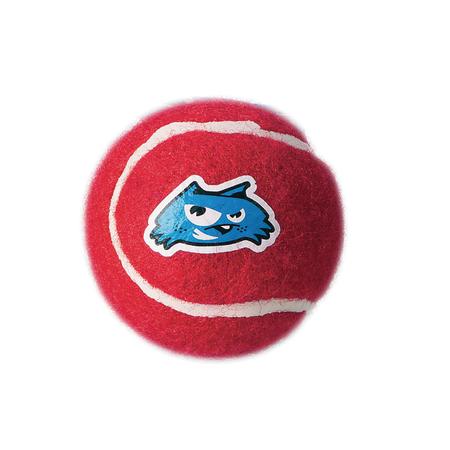 Rogz Gluon Tennis Ball Dog Toy Red 5cm