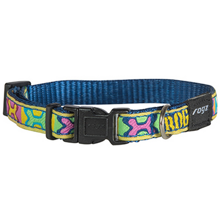 Rogz Jellybean Collar Pop Art