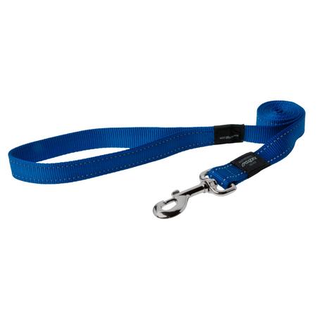 Rogz Reflective Nylon Dog Lead Blue Lumberjack (25mm)