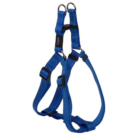 Rogz Reflective Nylon Step-In Dog Harness Blue Lumberjack (60-100cm Girth)
