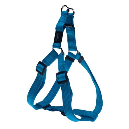 Rogz Reflective Nylon Step-In Dog Harness Turquoise Fanbelt (45-75cm Girth)