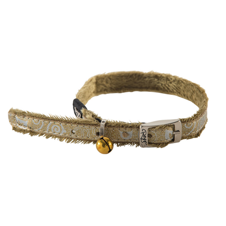 Rogz Sparklecat 11mm Pin Buckle Collar - Bronze