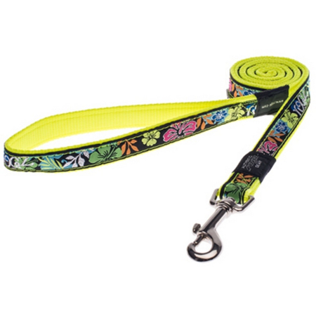 Rogz - Dayglo Yellow - Fixed Dog Lead