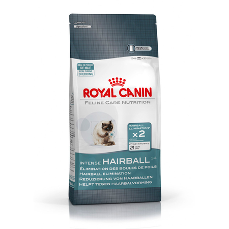 Royal Canin Adult Intense Hairball Dry Cat Food  4kg