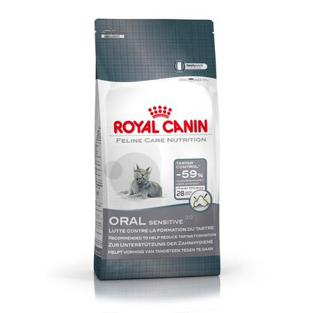 Royal Canin Adult Oral Sensitive Dental Dry Cat Food  1.5kg