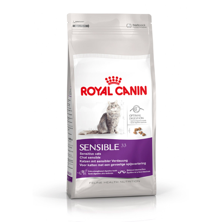 Royal Canin Adult Sensible Digestion Dry Cat Food  4kg