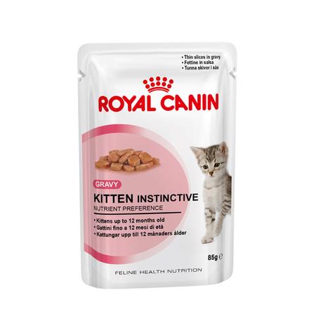 Royal Canin Kitten Instinctive in Gravy - 85gm
