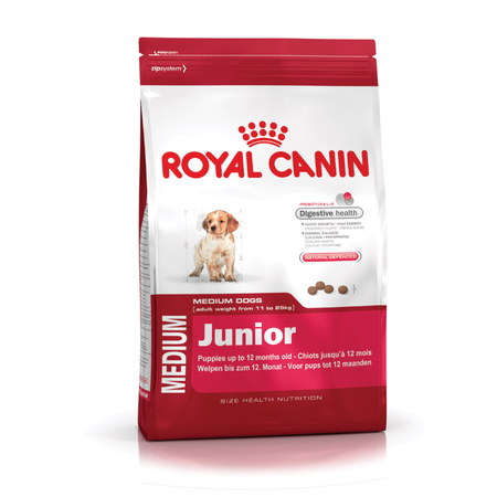 Royal Canin -Medium Breed Junior Dry Puppy Food  15kg