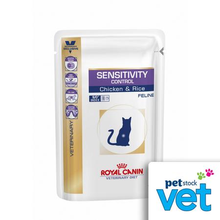 Royal Canin Veterinary Feline Sensitivity Control Chicken & Rice Wet 100g