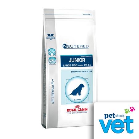 Royal Canin Veterinary Neutered Junior Large Dog 12kg