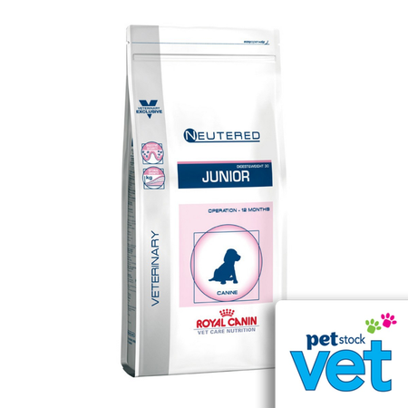 Royal Canin Veterinary Neutered Junior Medium Dog 10kg