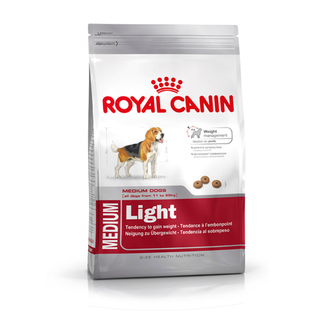 Royal Canin - Adult Medium Breed -Light - Dry Dog Food
