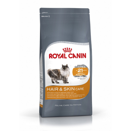Royal Canin - Adult - Hair and Skin Care - Dry Cat Food - 2kg