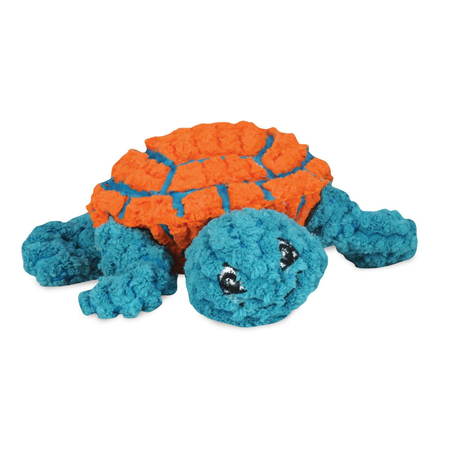 Ruff-Tex Dude The Turtle - Orange Teal