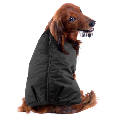 Ruff n Rugged Ripstop Dog Coat Black XXX Large (70-75cm)