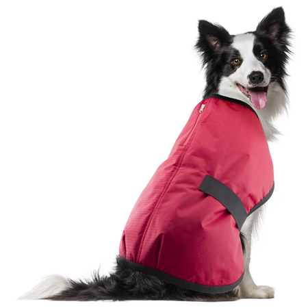 Ruff n Rugged Ripstop Dog Coat Red Large (55-60cm)