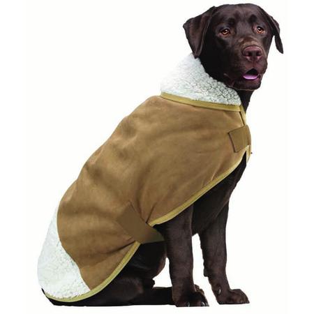 Ruff n Rugged Sherpa Dog Coat Large