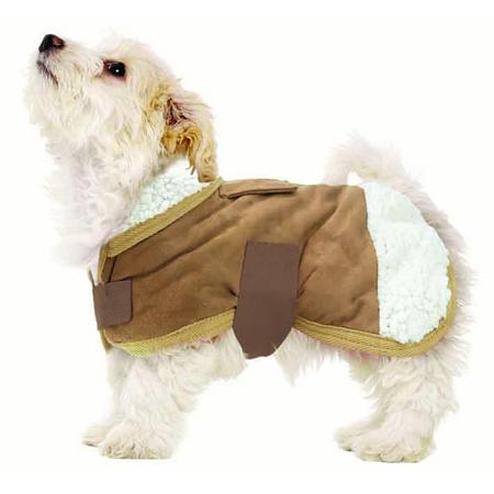 Ruff n Rugged Sherpa Dog Coat Small