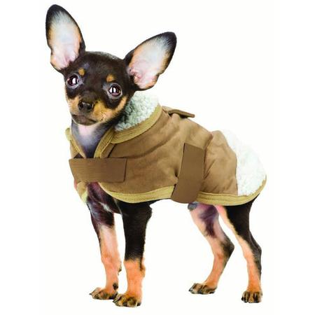 Ruff n Rugged Sherpa Dog Coat XS