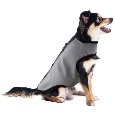 Ruff n Rugged Soft Shell Sport Dog Coat Grey Large (55-65cm)