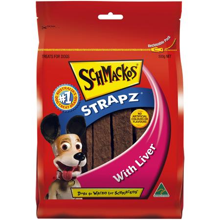Schmackos - Liver Strapz - Dog Treats