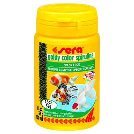 Sera Goldy Colour Spirulina Fish Food  39gm