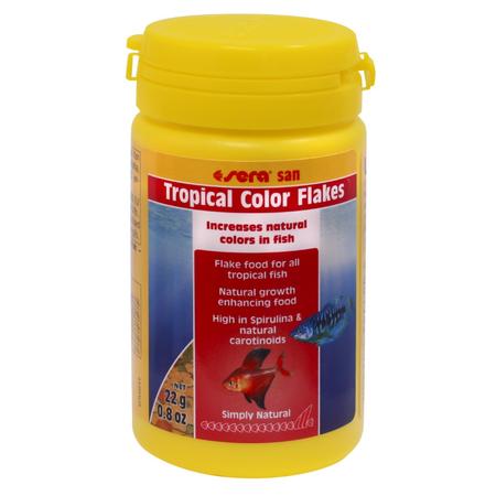 Sera Tropical Colour Enhancing Flakes Fish Food  22gm
