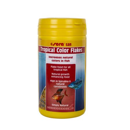 Sera Tropical Colour Enhancing Flakes Fish Food  60gm