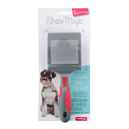 Shear Magic Flexi Slicker Dog Brush  Large