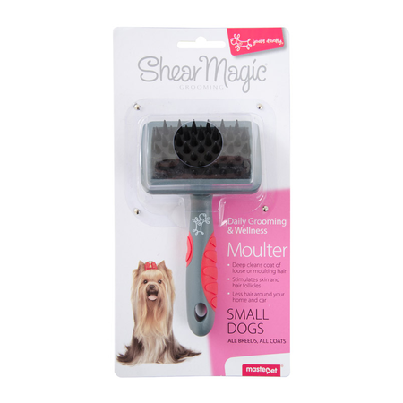 Shear Magic Moulter Dog Brush  Small