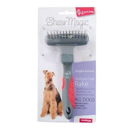 Shear Magic Undercoat Rake Dog Brush  Small