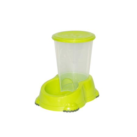 Smart Snacker Food Dispensing Dog Bowl Fun Green - 3 Litre