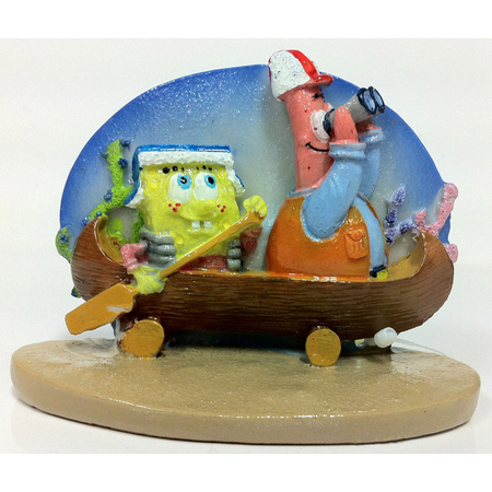 SpongeBob Squarepants & Patrick on Canoe