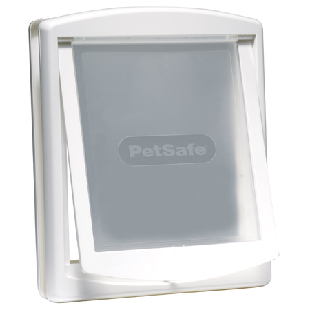 Staywell 700 Series Original 2 Way Pet Door White Large (390mm Max Shoulder Width)