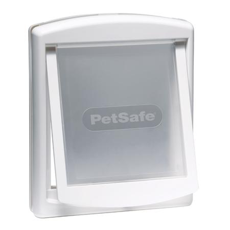 Staywell 700 Series Original 2 Way Pet Door White Medium (219mm Max Shoulder Width)