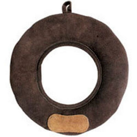 Suede Buffalo Donut Toss - 7in