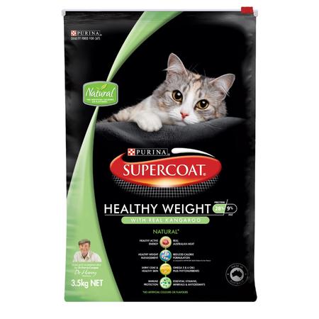 Supercoat Cat Healthy Weight Kangaroo 3.5kg