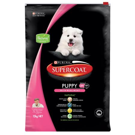 Supercoat Puppy Chicken Dry Puppy Food  12kg